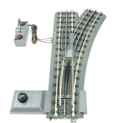 MTH/Railking - RealTrax - Remote O54 Switch Right - O Scale (40-1055) - the-pennsy-station-llc