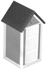 MTH/Railking - Out House - O Scale (30-90001) - the-pennsy-station-llc