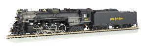 Bachmann - Nickel Plate Road Berkshire #765 w/ DCC - HO Scale (52401) - the-pennsy-station-llc
