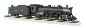 Bachmann - USRA 2-8-2 Steam Loco PRR #9630 w/ DCC & Sound - HO Scale (54303) - the-pennsy-station-llc