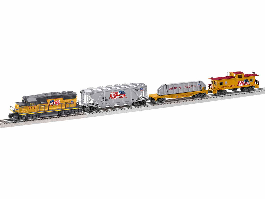 Lionel - Lionchief UP America Proud GP38 Set w/ BT - O Scale (1923110) - the-pennsy-station-llc