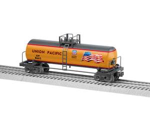 Lionel - Union Pacific Uni-body Tank Car - O Scale (1928680) - the-pennsy-station-llc