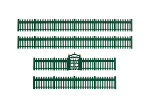 Lionel - Green Picket Fence - O Scale (1930170) - the-pennsy-station-llc
