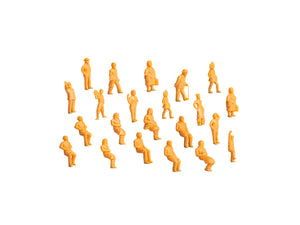 Lionel - Unpainted Figures 36-Pack - O Scale (1930300) - the-pennsy-station-llc