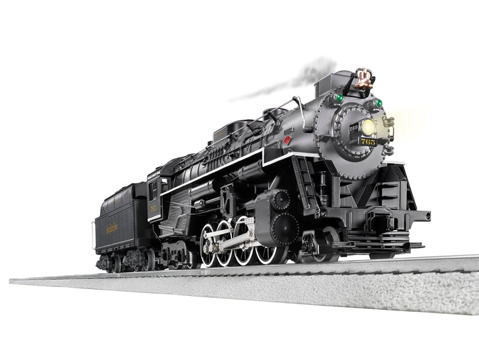 Lionel - LC Plus+ 2.0 - Berkshire - Nickel Plate Road #765 - O Scale (1932030) - the-pennsy-station-llc