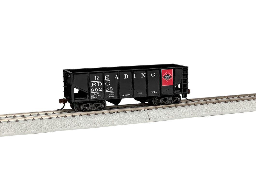 Lionel - Reading #89252 2-Bay Hopper - HO Scale (1954050) - the-pennsy-station-llc