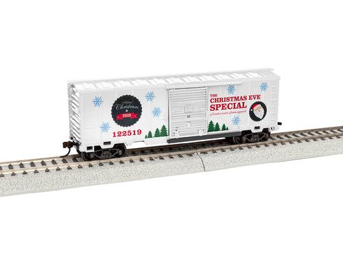 Lionel - 2019 Christmas Boxcar #122519 - HO Scale (1954080) - the-pennsy-station-llc
