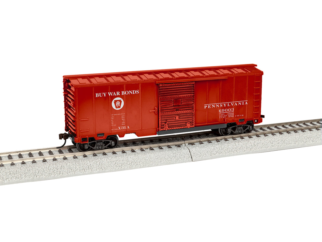 Lionel - PRR #69003 Boxcar - HO Scale (1954120) - the-pennsy-station-llc