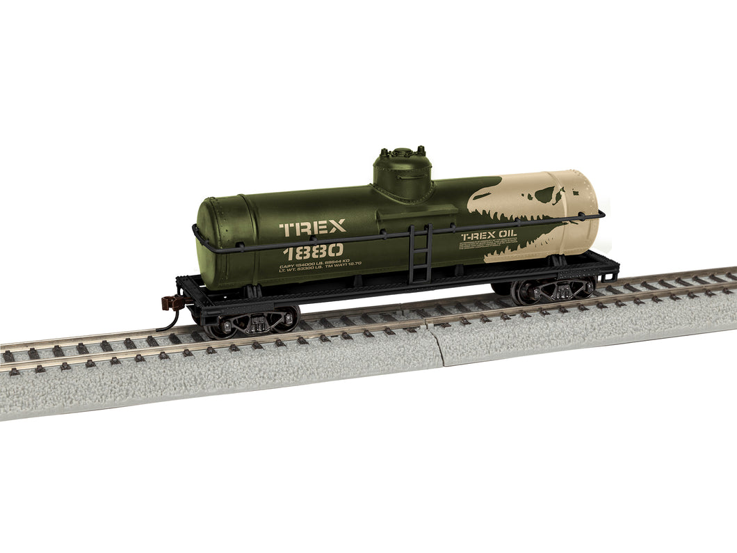 Lionel - T-Rex Oil #1880 Tank Car - HO Scale (1954180) - the-pennsy-station-llc