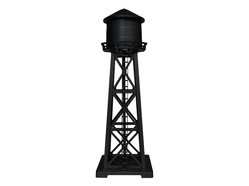 Lionel - Lighted Water Tower (Black) - HO Scale (1956130) - the-pennsy-station-llc