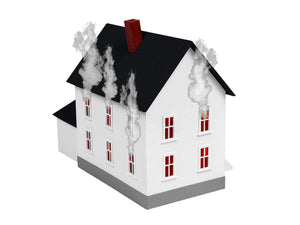 Lionel - Burning House - HO Scale (1956260) - the-pennsy-station-llc