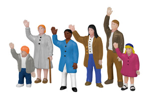 Lionel - People Waving - HO Scale (1957190) - the-pennsy-station-llc