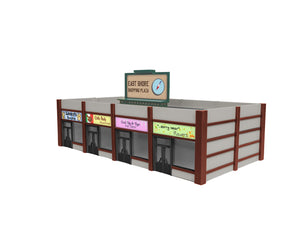 Lionel - East Shore Shopping Center Kit - HO Scale (1967190) - the-pennsy-station-llc