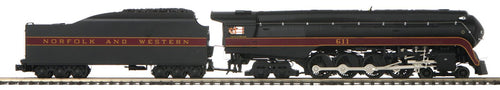 MTH/Railking - Engine - 4-8-4 J Steam N&W #611 w/ Proto-Sound 3.0 - O Scale (20-3773-1) - the-pennsy-station-llc