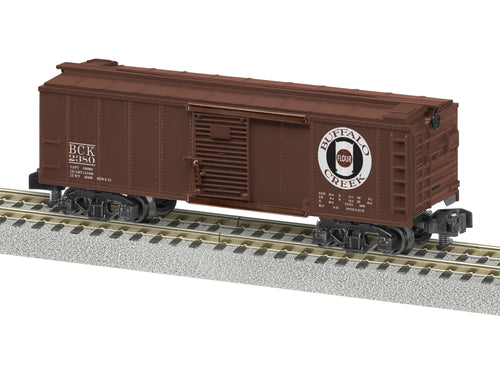 Lionel A/F - Buffalo Creek #2380 Boxcar - S Scale (2019062) - the-pennsy-station-llc