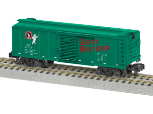 Lionel A/F - Great Northern #27710 Boxcar - S Scale (2019072) - the-pennsy-station-llc
