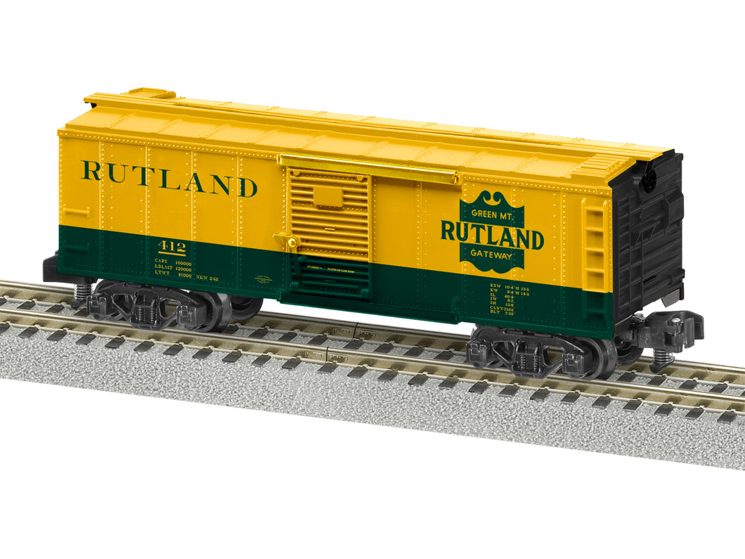Lionel A/F - Rutland #412 Boxcar - S Scale (2019102) - the-pennsy-station-llc