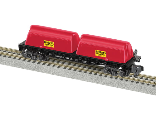 Lionel A/F - Renkens #1492 Milk Flat Car - S Scale (2019182) - the-pennsy-station-llc
