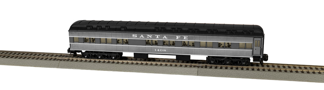 Lionel A/F - Santa Fe Heavyweights - Diner Car #1468 - S Scale (2019260) - the-pennsy-station-llc