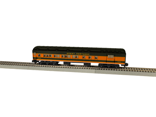 Lionel A/F - GN Heavyweight Combine Car #590 - S Scale (2019300) - the-pennsy-station-llc