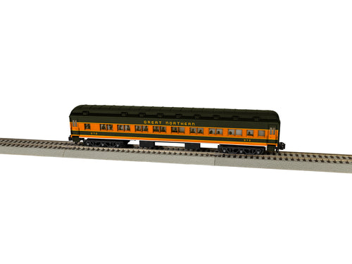 Lionel A/F - GN Heavyweight Coach Car #972 - S Scale (2019312) - the-pennsy-station-llc