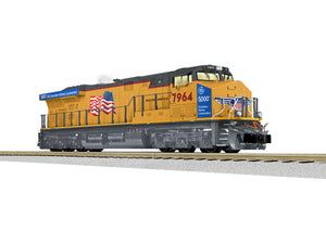 Lionel A/F - Legacy - ES44AC - UP #7964 - S Scale (2021100) - the-pennsy-station-llc