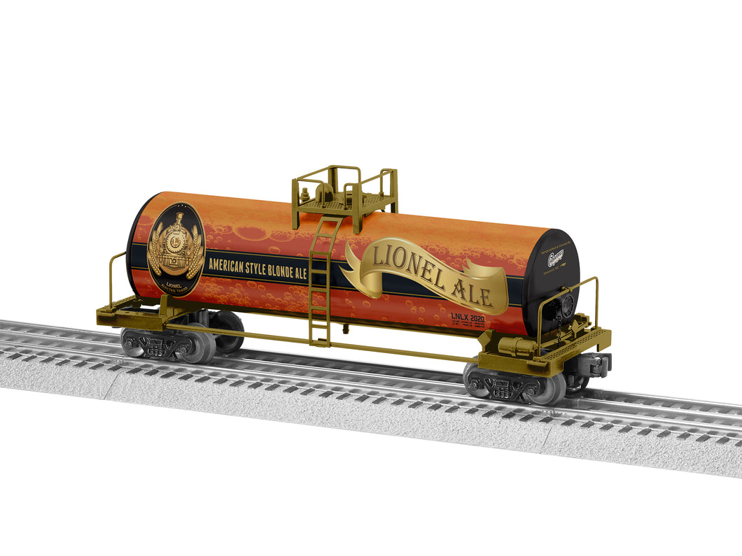 Lionel - Lionel Ale Tank Car - O Scale (2028500) - the-pennsy-station-llc