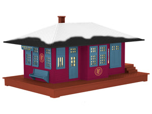 Lionel - The Polar Express Passenger Station - O Scale (2029050) - the-pennsy-station-llc