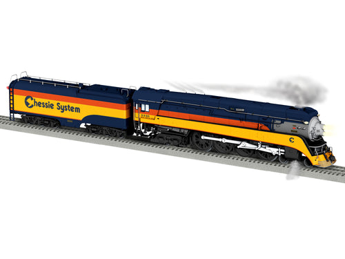 Lionel - BTO - Vision GS-4 - Chessie Steam Special #4449 - O Scale (2031640) - the-pennsy-station-llc