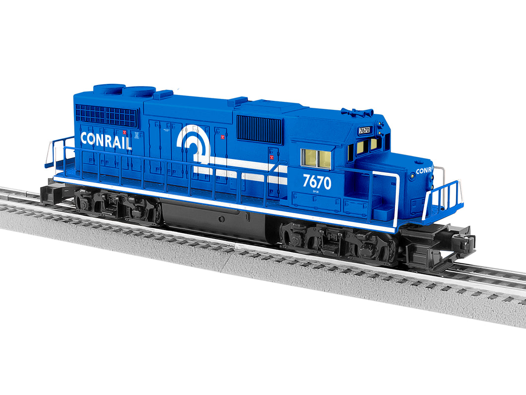 Lionel - Conrail LionChief GP38 #7670 - O Scale (2034180) - the-pennsy-station-llc