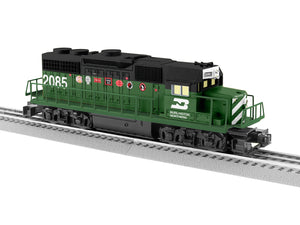 Lionel - Burlington Northern LionChief GP38 #2085 - O Scale (2034190) - the-pennsy-station-llc