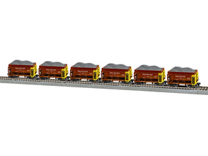Lionel - Great Northern Taconite Car 6-Pack A - HO Scale (2064111)