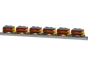 Lionel - Great Northern Taconite Car 6-Pack B - HO Scale (2064112)