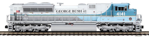 MTH/Railking - Engine - UP SD70ACe George Bush #4141- O Scale (22-211552) - the-pennsy-station-llc