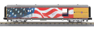 MTH/RailKing - UP 70' Smoothside Baggage Car #5769 - O Scale (20-64089) - the-pennsy-station-llc