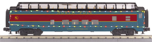 MTH/RailKing - North Pole 60' Streamlined Passenger Set - ***SPECIAL 8-Car Set - O Scale (30-68204, 30-68205, 30-68206, 30-68207)