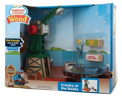 FP Thomas & Friends - Cranky at the Docks (FHM72) - the-pennsy-station-llc