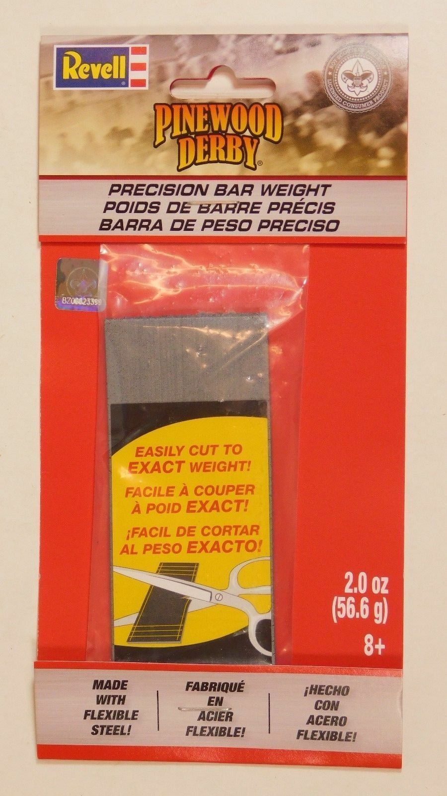 Revell - Pinewood Derby - Precision Bar Weight (RMXY9420) - the-pennsy-station-llc