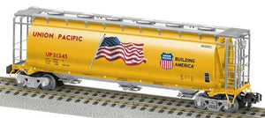 Lionel A/F - UP Cylindrical 3-B Hopper - S Scale (6-48646) - the-pennsy-station-llc