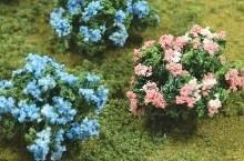 JTT - Hydrangea 6-pack - O Scale (95610) - the-pennsy-station-llc