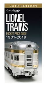 Greenberg's Guides - 2019 Lionel Trains - Pocket Price Guide 1901-2019 (108719) - the-pennsy-station-llc