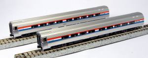 KATO - Amtrak Coach Cars 2-Pack PhIII - N Scale (106-6291) - the-pennsy-station-llc