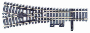 Atlas - HO Code 100 Snap-Track - WYE Turnout - HO Scale (#280) - the-pennsy-station-llc