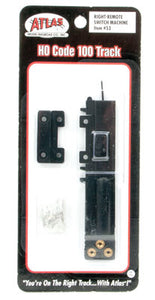 Atlas - HO Code 100 - Right Remote Switch - HO Scale (#53) - the-pennsy-station-llc