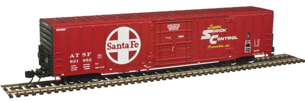 Atlas - 60' Box Car ATSF - N Scale (50003914) - the-pennsy-station-llc