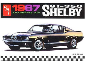 AMT - 1967 Shelby GT350 Black - Plastic Model Kit (834) - the-pennsy-station-llc