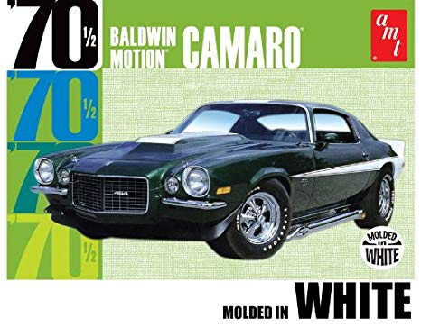 AMT - Baldwin Motion 1970 1/2 Chevy Camaro - Plastic Model Kit (855) - the-pennsy-station-llc