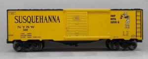 Ready Made Trains - NYSW Susie-Q Boxcar - O Scale (96443) - the-pennsy-station-llc