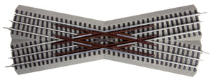 Lionel - Fastrack 22.5-Degree Crossover - O Scale (6-12050) - the-pennsy-station-llc