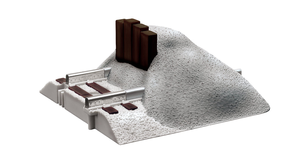 Lionel - Fastrack Earthen Bumpers (6-12059) - the-pennsy-station-llc